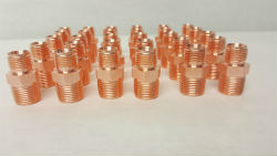 Copper Plated Electrical Contacts