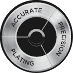 Accurate Precision Plating logo